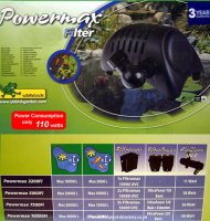 10000L Powermax Filter Pump inc Delivery