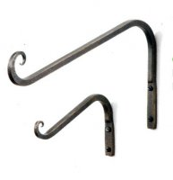 Curved Hanger - Antique Bronze - 15cm