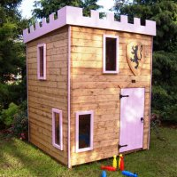 Castle Tower Playhouse 6' x 6' including Vat and Delivery*