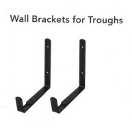 Wall Brackets for Troughs from 40cm to 100cm - pack of 2