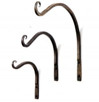 Curved Bracket - Antique Bronze - 23cm