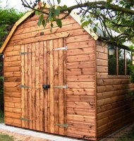 Montana Barn Style Shed 12' x 8' - including Vat and Delivery*