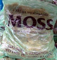 Sphagnum Moss - approx 14 litres