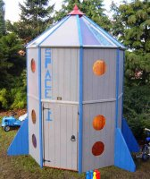Outer Space Playhouse - including Vat and Delivery*