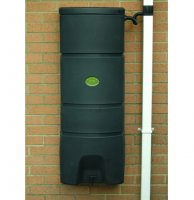 Slim-line Wall Mounted Water Butt - 160 litre