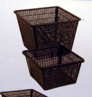 Square Planting Basket for Pond Plants - 11cm x 11cm x 11cm