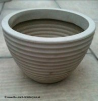 Low Honey Pot Planter - Suede 37cm