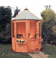 Octagonal Pine Summerhouse 6' x 6' inc Vat and Delivery*