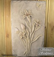 Pink Bliss Flower Plaque