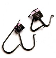 J Hooks in Black Large - pack of 2