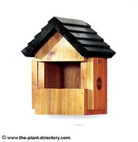 Multi-Nester Pitched Roof Nesting Box with Green Roof