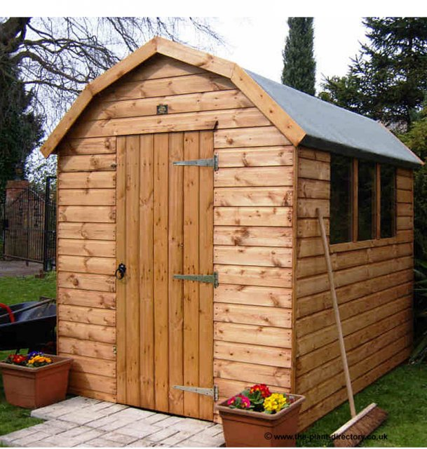 Montana Barn Style Shed 7' x 7' including Vat and Delivery* - Click Image to Close