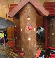 Ladybird Tower with Bark effect