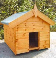 Apex Roof Dog Kennel with Free Delivery - 120cm x 90cm