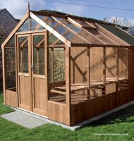 Greenhouse Shed Combination 16'9 x 8'9 Greenhouse + Shed