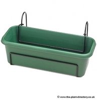 Balcony Trough Set - 60cm - Green