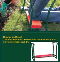 Garden Kneeler and Stool by Town and Country