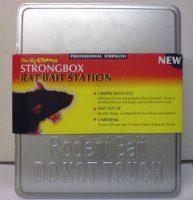 Rat Bait Station - Metal Strongbox