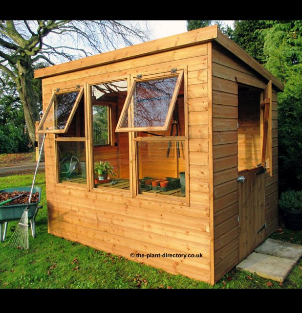 Cherry Tree Potting Shed 8' x 8' inc Vat & Delivery* - Click Image to Close