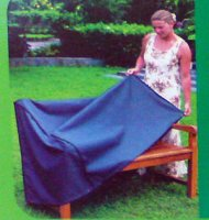 Polyester Bench Seat Cover for 3 Seat Bench