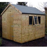 Tanalised Heavy Duty Apex Shed 8' x 6' inc. Vat and Delivery*