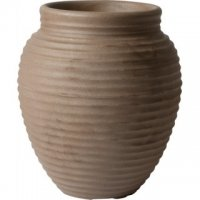 Honey Pot Planter - Dark Brown 37cm