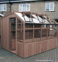 Redwood Pine Potting Shed 8' x 8' including Vat and Installation