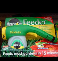 Miracle Gro Soluble Plant Food Feeder