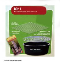 Water Feature Reservoir Kit 1 without Pump