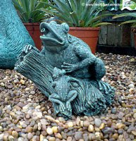 Frog and Froglet Fountain
