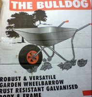 Bulldog Garden Wheelbarrow