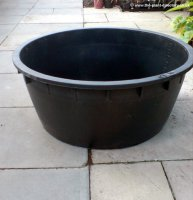 Victoria 240 litre Round Pond and Water Feature Reservoir