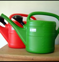Plastic Watering Can - 10 litre - Green