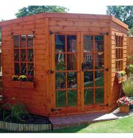 Corner Summerhouse 7ft x 7ft including Vat and Delivery*