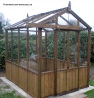 Traditional Timber Greenhouse 10ft x 6ft inc. Vat and Delivery