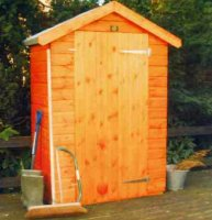 Tool Store 4' x 4' - including Vat and Delivery*