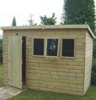Tanalised Heavy Duty Pent Shed 6' x 8' - inc. Vat and Delivery*
