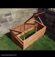Cold Frame in Thermowood 4ft x 2ft inc Delivery