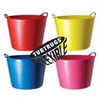 Flexible Tub Trug - 42 litre - Red
