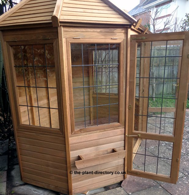 Octagonal Cedar Summerhouse 6' x 6' inc Vat and Delivery - Click Image to Close