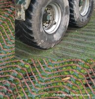 Grass Protection Mesh - 1800g SLIP RESISTANT - 20m x 2m