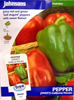 Pepper - Bell Pepper California Wonder