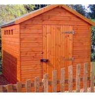 Security Apex Shed 8' x 8' - including Vat and Delivery*