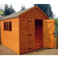 Apex Workshop 10' x 8' - including Vat and Delivery*