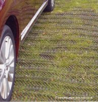 Grass Protection Mesh - 1000g SLIP RESISTANT - 10m x 1m