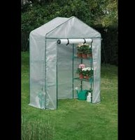 Mini Walk-In Greenhouse Replacement Cover