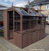 "Redwood Pine Potting Shed 10'5"" x 6'8"" including Installation*"