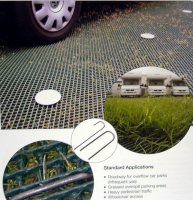 Grass Protection Mesh Heavy Duty 2000g - 10m x 1m