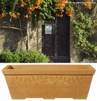 Sylvan Trough Planter - Sandstone Colour