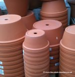 Terracotta Clay Half Pots